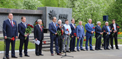 TsAGI did honour to the memory of the fallen during the Great Patriotic War.