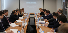 A delegation of the Ministry of Education and Science of the Russian Federation visits TsAGI.