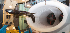 TsAGI studies lightweight convertible aircraft with modified empennage