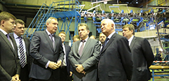 Dmitry Rogozin, Vice Chairman of the Government of the Russian Federation, held a workshop on the MC-21 program in TsAGI
