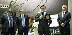 "Moscow Region Governor Andrey Vorobyov visits the Federal State Unitary Enterprise ""Central AeroHydrodynamics Institute"""
