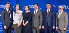 Scientific cooperation in Aeronautics: Meeting of the 9th Framework Program of the European Union