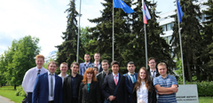 "TsAGI visited by shortlisted participants of ""Future of the Aviation"" contest"