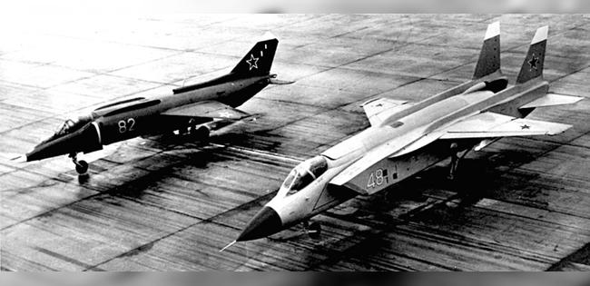 100-летие ЦАГИ в истории: самолет Як-141