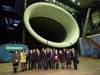 ... in particular, about the largest European subsonic wind tunnel. This was the device where the research was performed for such European projects as SADE, SARISTU and others, in which Russia and France were partners.