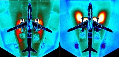 TsAGI tests the MC-21-300 aircraft mockup in engine thrust reversal rating